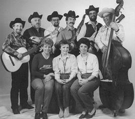 První sestava osadní kapely